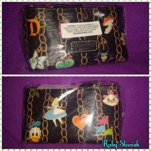Black Charms Cosmetic Case