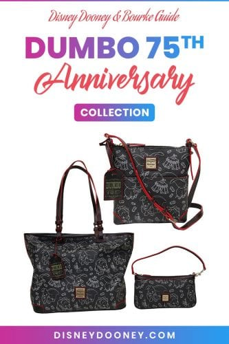 Pin me - Disney Dooney and Bourke Dumbo 75th Anniversary Collection