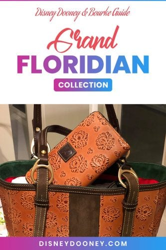 Pin me - Disney Dooney and Bourke Grand Floridian Collection