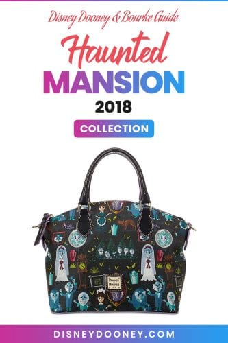 Pin me - Disney Dooney and Bourke Haunted Mansion 2018 Collection