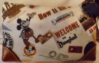 Disneyland 55th Anniversary Cosmetic Case (back)