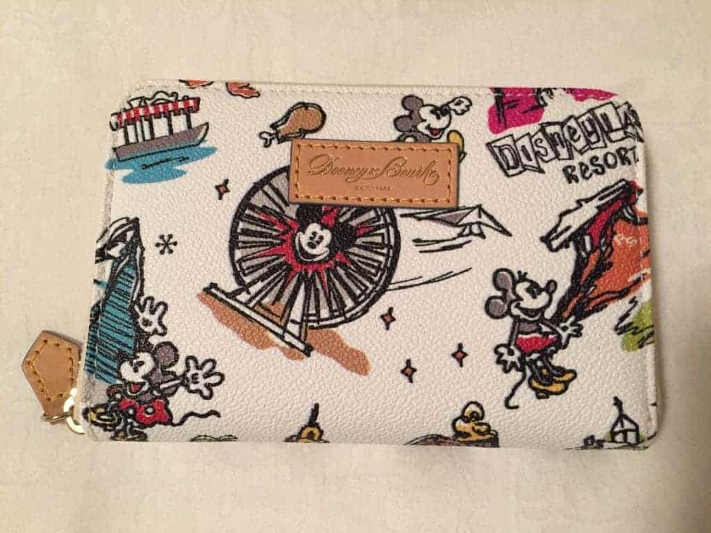 Disneyana Disneyland Wallet