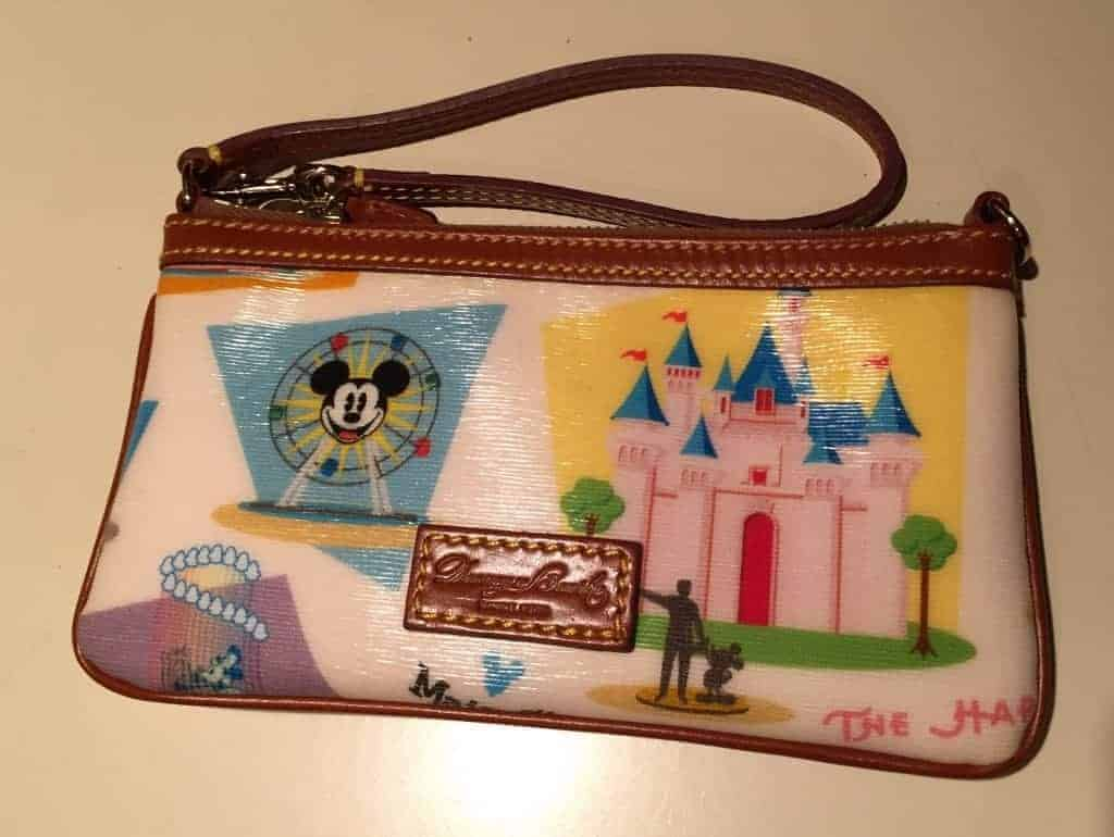Disneyland Retro Wristlet
