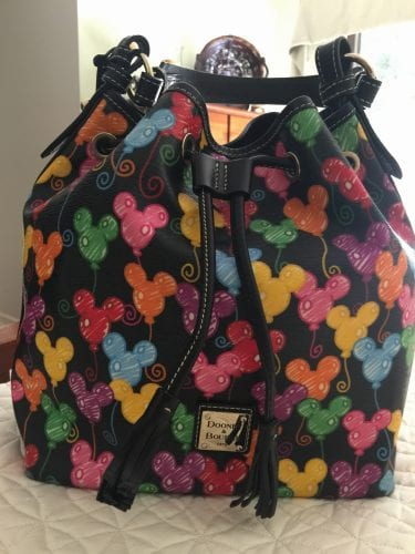 Black Balloons Drawstring Backpack