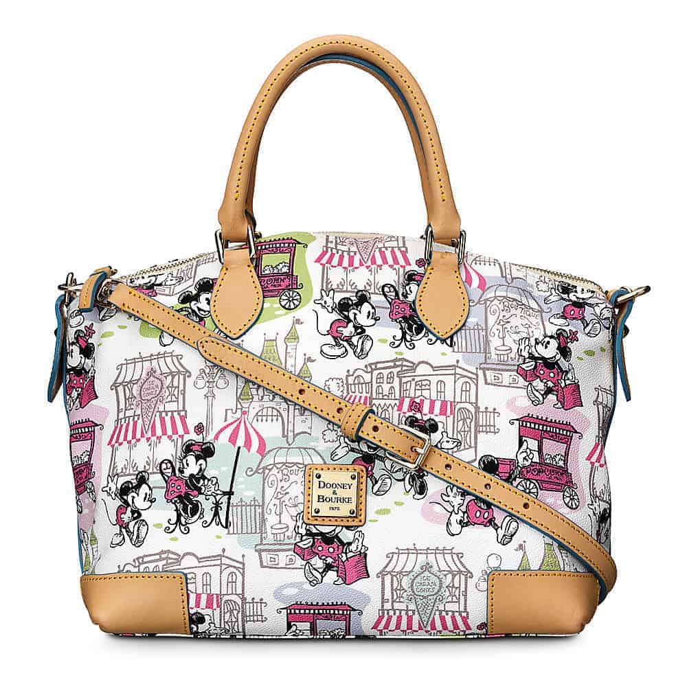 Mickey and Minnie Downtown Pink Satchel