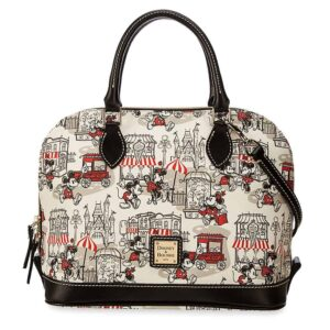 2016 Downtown Red Satchel