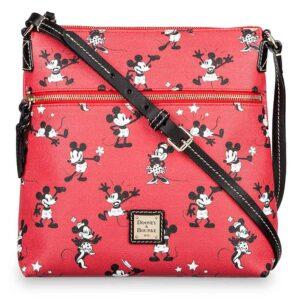 Mickey & Minnie Retro Red Crossbody