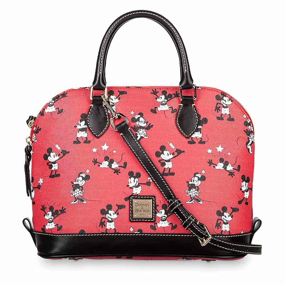 Mickey & Minnie Retro Red Satchel