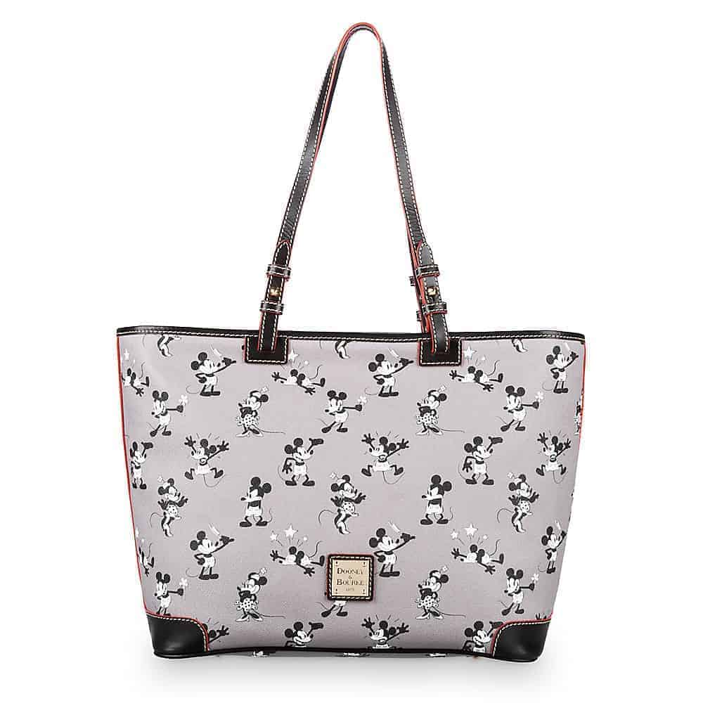 Mickey & Minnie Retro Gray Tote