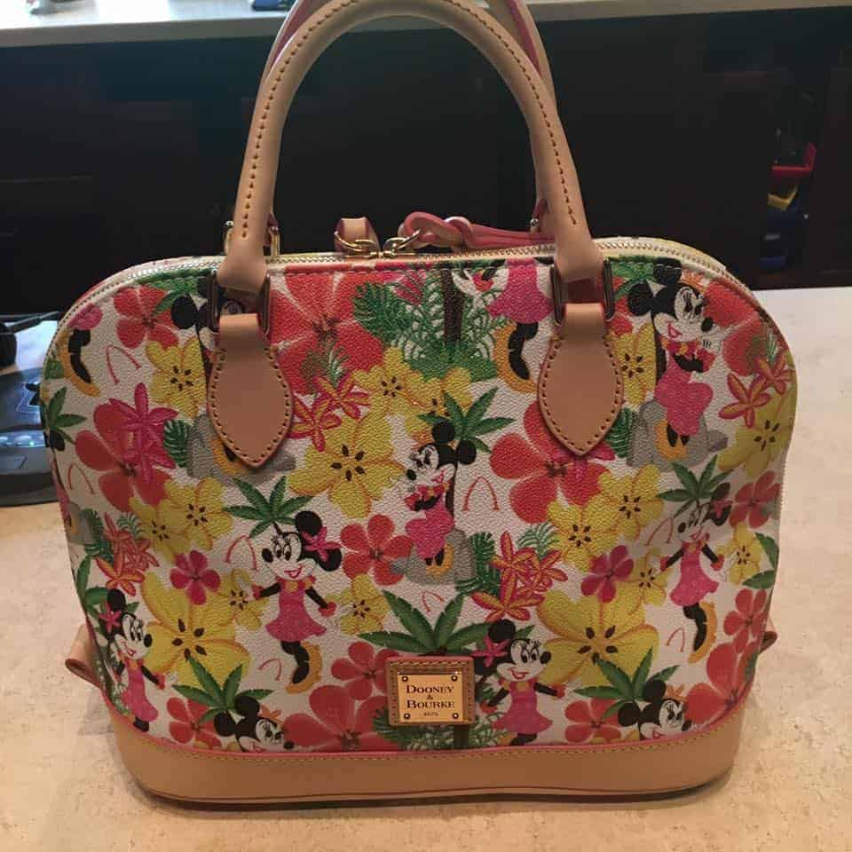 Aulani Floral Minnie Satchel
