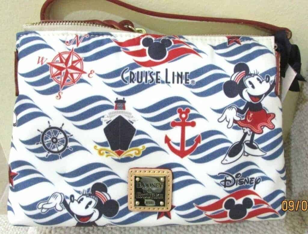 Disney Cruise Line Wave Logo Crossbody Pouchette