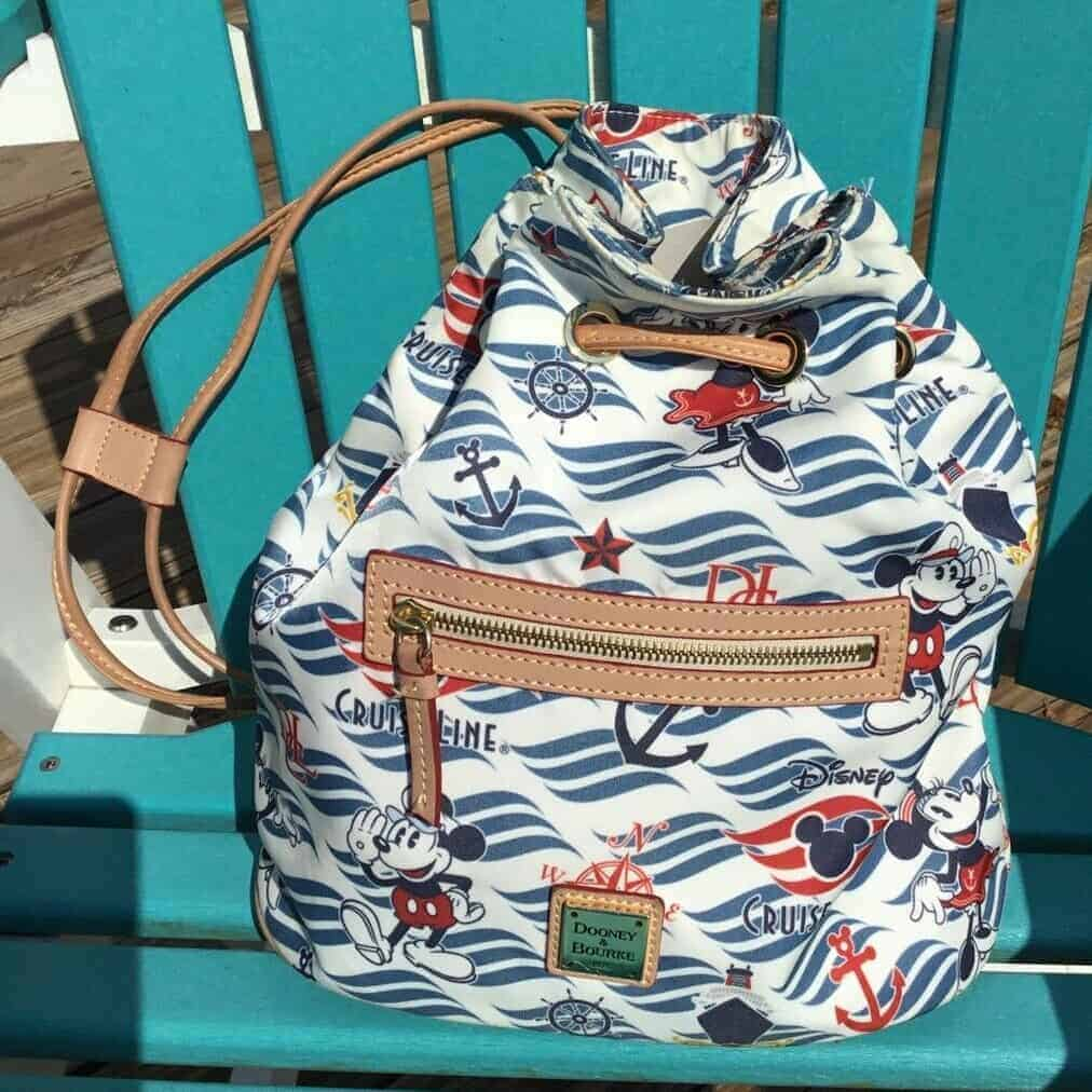 Disney Cruise Line Wave Logo Backpack