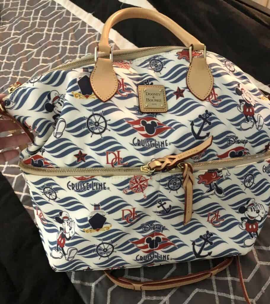 Disney Cruise Line Wave Logo Satchel