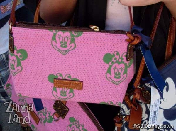 Pink Minnie Canvas Pouchette