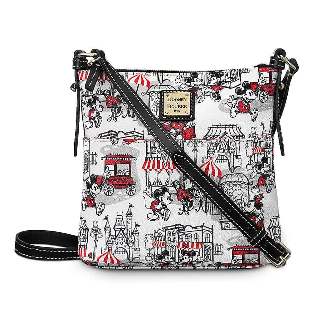 Mickey and Minnie Downtown Red Letter Carrier / Crossbody