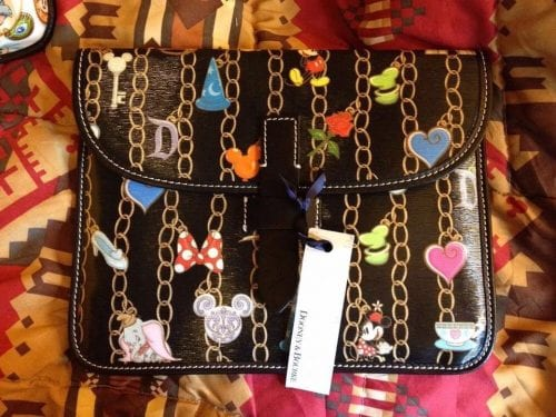 Black Charms iPad Case
