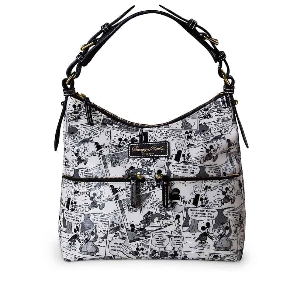 Black Comics North/South Zipper Sac