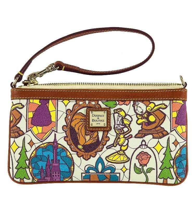 Beauty and the Beast Wristlet