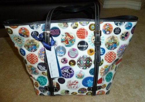 Buttons Tote (back)
