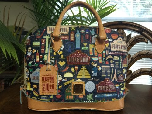 Food & Wine Festival 2015 Satchel