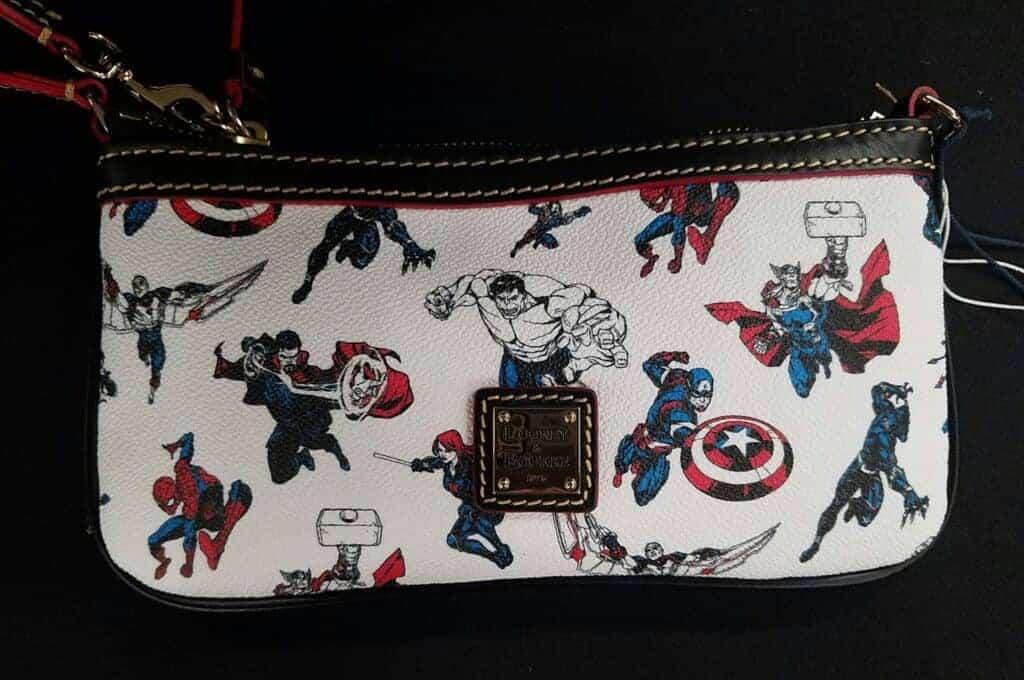 Avengers Super Heroes Half Marathon 2016 Large Slim Wristlet