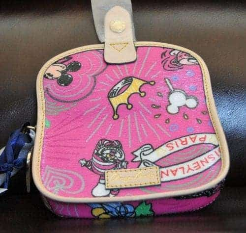 Disneyland Paris Sketch Pink Wristlet (back)