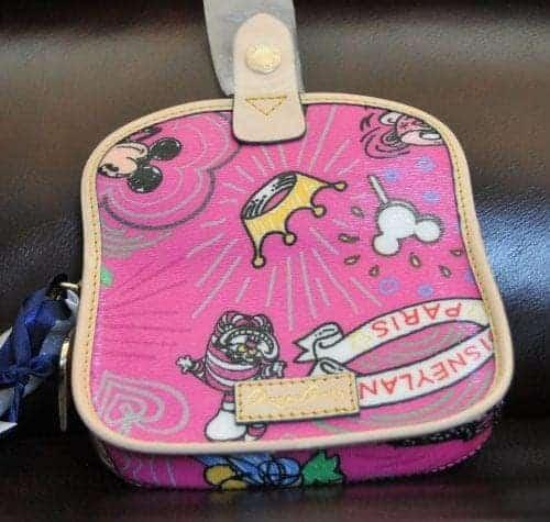 Disneyland Paris Sketch Pink Wristlet (back)
