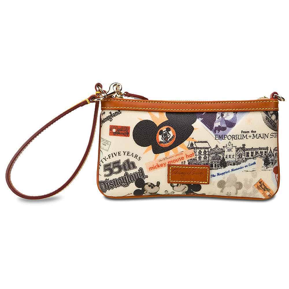 Disneyland 55th Anniversary Zip Wristlet