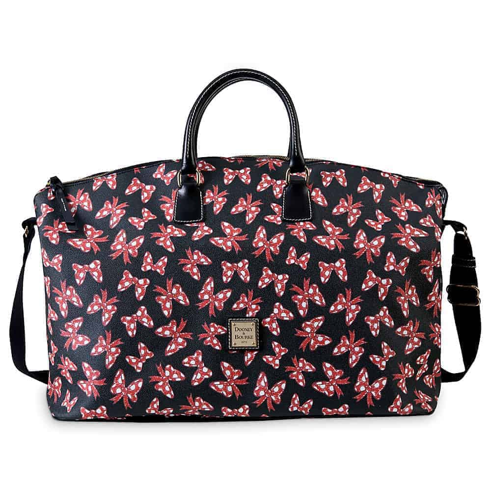 Black Minnie Bows Weekender