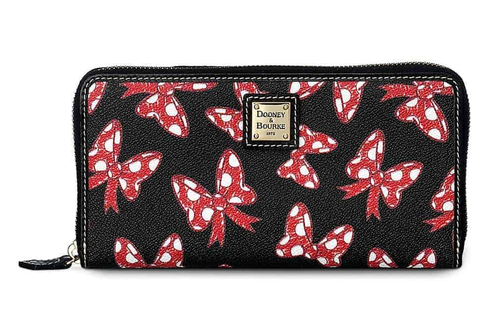 Black Minnie Bows Wallet
