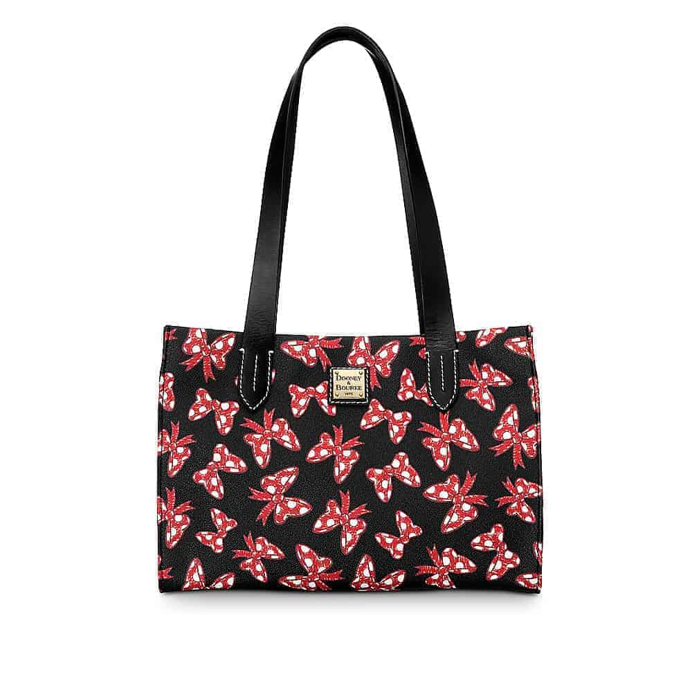 Black Minnie Bows Small Shopper
