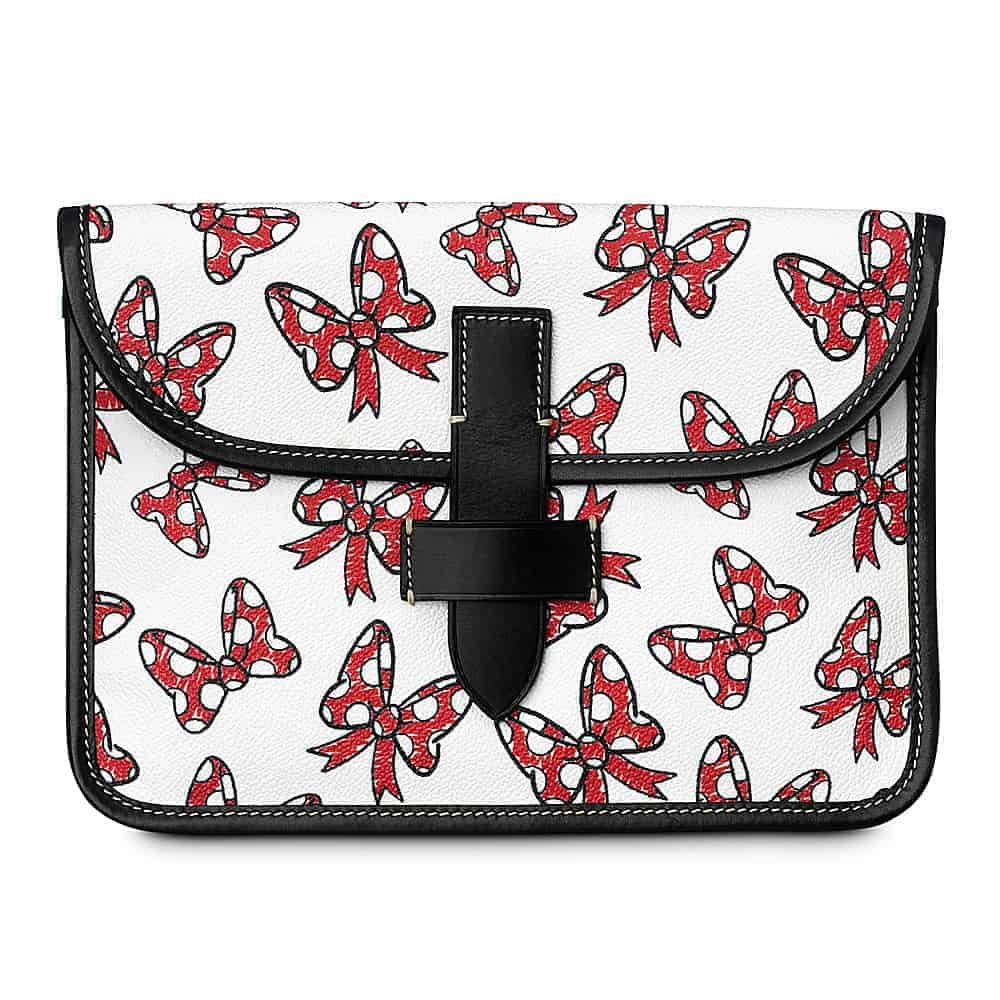 White Minnie Bows Tablet Case