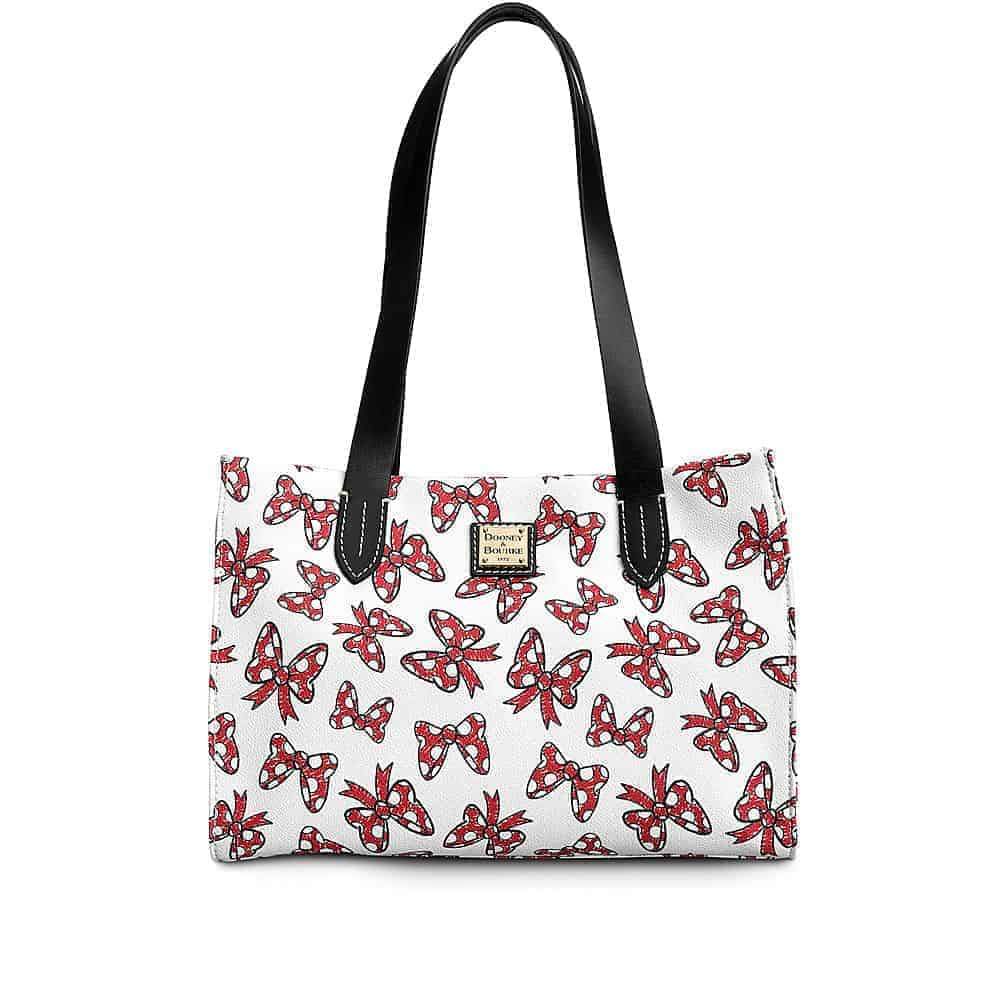 White Minnie Bows Small Shopper