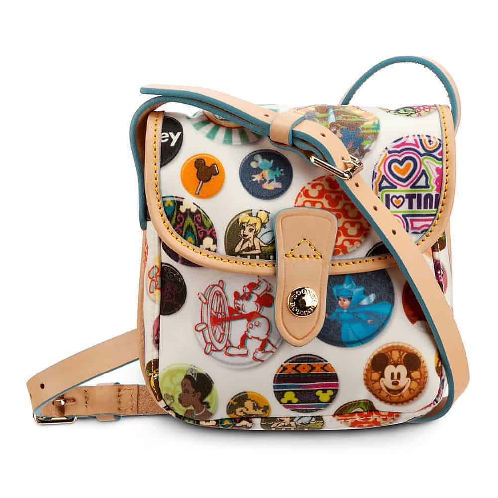 Buttons Nylon Small Crossbody