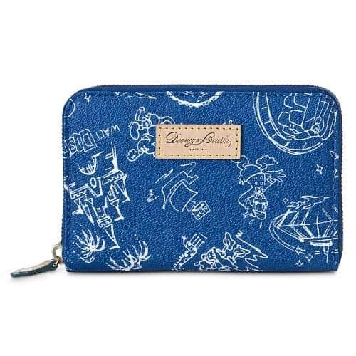 Blue WDW Disneyana Wallet