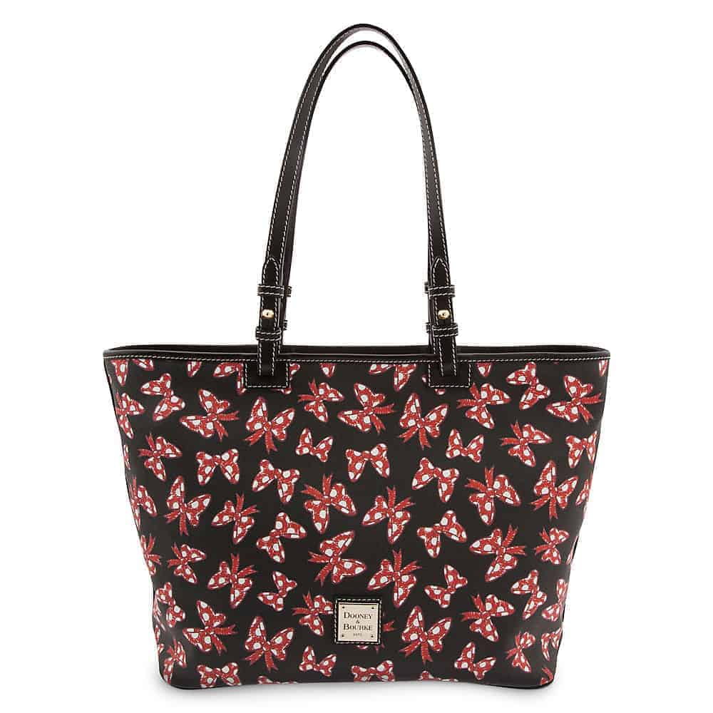 Black Minnie Bows Large Tote