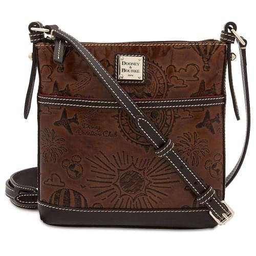 DVC Brown Leather Crossbody