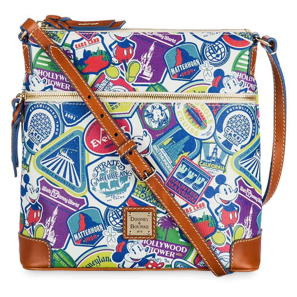 Sticker Collage Crossbody