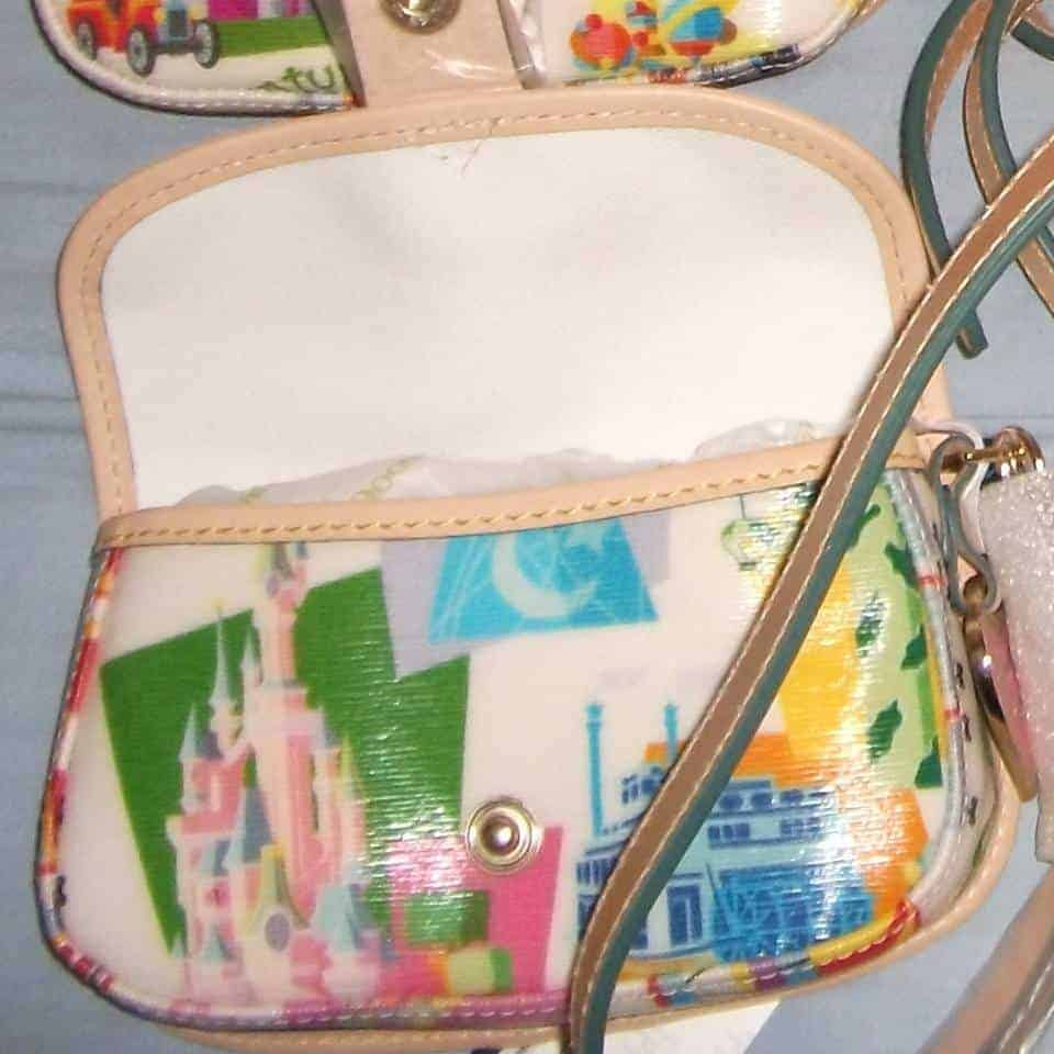 Disneyland Paris Retro Wristlet (inside)