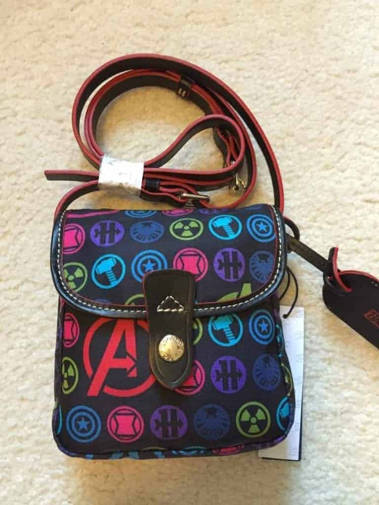 2014 Avengers Half Small Crossbody