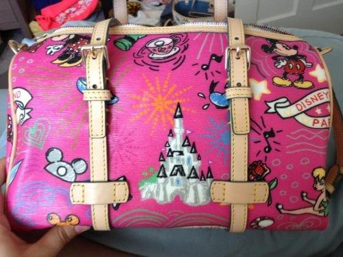 Disneyland Paris Sketch Pink Barrel (back)
