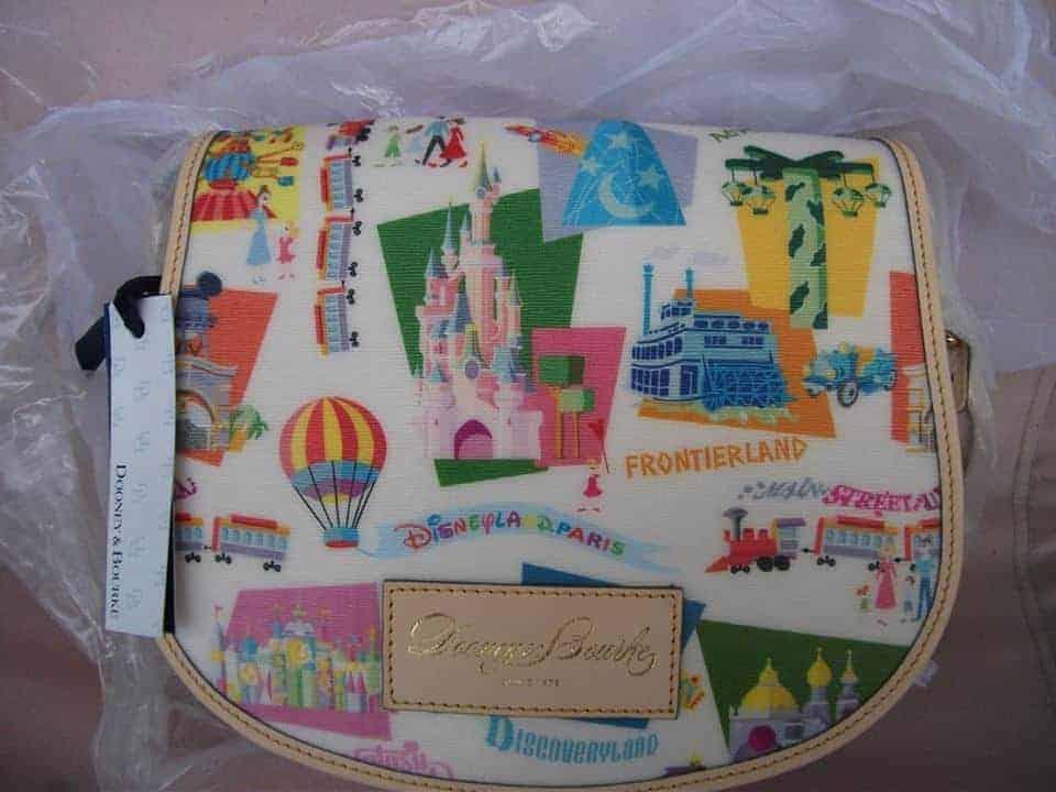 Disneyland Paris Retro Messenger
