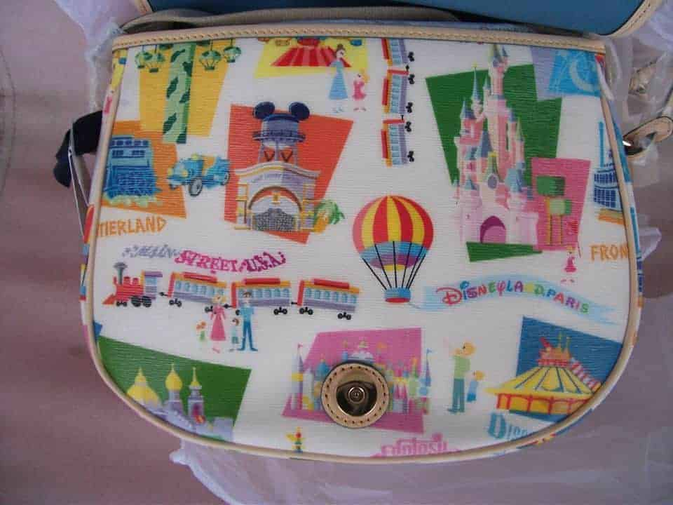 Disneyland Paris Retro Messenger (inside)