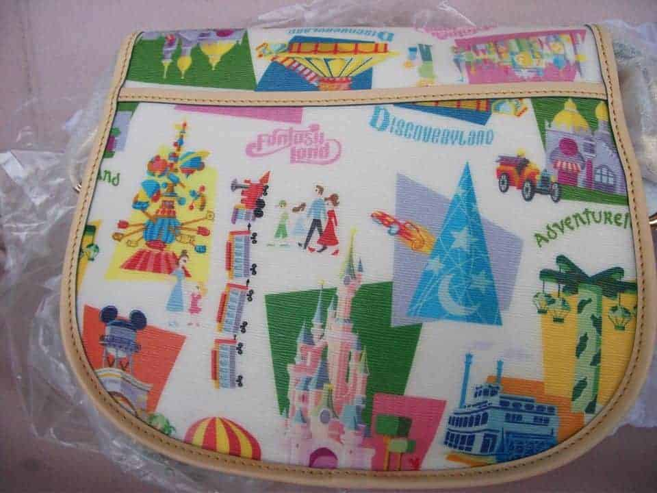 Disneyland Paris Retro Messenger (back)