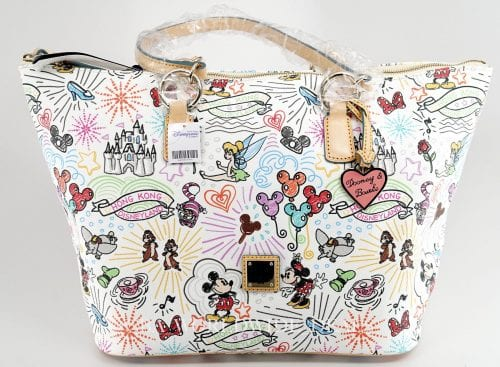 Hong Kong Disneyland Sketch Large Tote