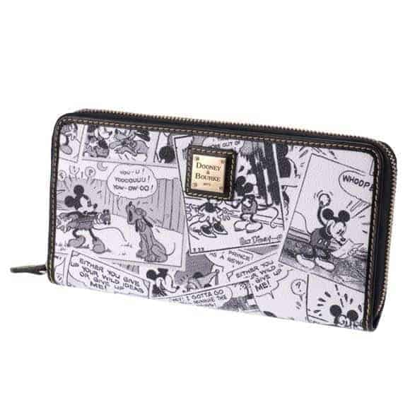 Japan Comics Black Long Wallet