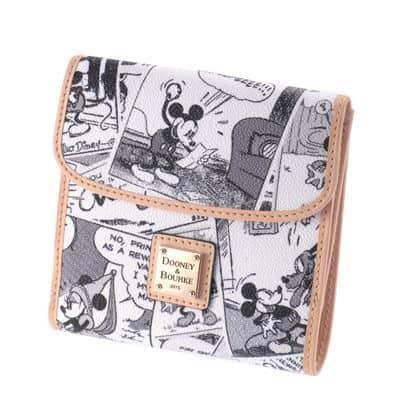 Japan Comics Tan Small Wallet