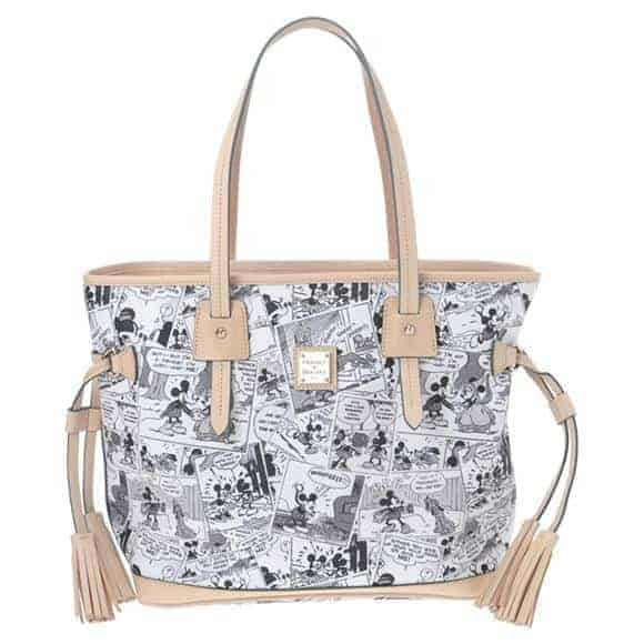 Japan Comics Tan Tassel Tote