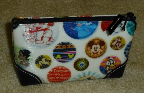 Buttons Cosmetic Case (back)