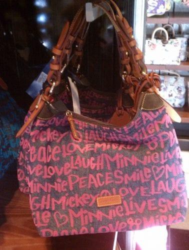 Peace Love Mickey Pink Denim Erica